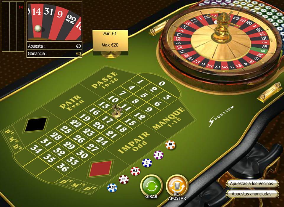 Juegos de ruleta - Gratis y sin descargar