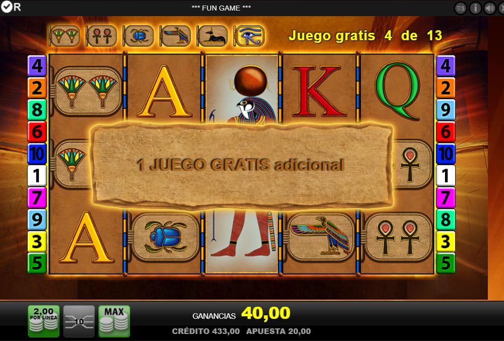 Eye Of Horus Jugar Online Gratis O Con Dinero Real